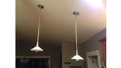 2 Pendant Lights