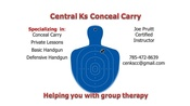 May 9th SALINA, KS Conceal Carry Class